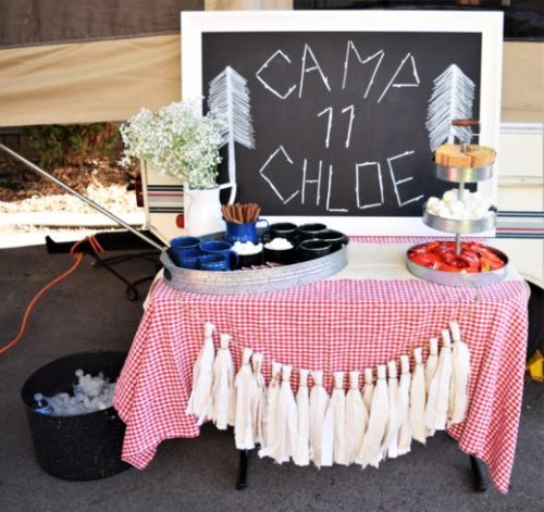 Camp Chloe Birthday Campout!