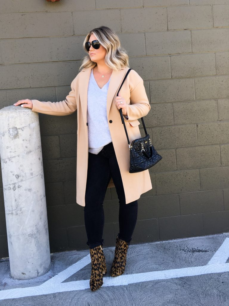 Leopard Booties + Classic Fall Staples